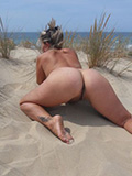 Nude On The Beach