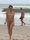 Hottie Nude At The Beach II