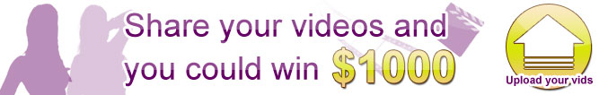 Upload your videos and you could win $1000
