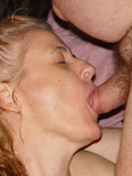 Mature girl love wiener in mouth